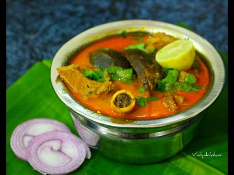 Southindian Brinjal Mutton Curry