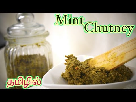 Mint Chutney - in Tamil | Healthy Thick Chutney - Storable