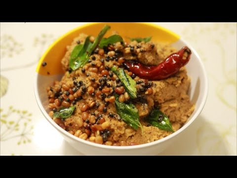 Coconut Thogayal Recipe-Thengai Thuvaiyal Recipe-Coconut Chutney Recipe By Healthy Food Kitchen