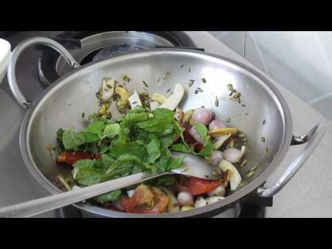 MUTTON KUZHAMBU in Tamil goat meat curry recipe How to make lamb curry tamil