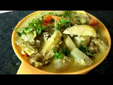 AVIAL - AVIAL RECIPE IN TAMIL - HOW TO MAKE AVIAL - அவியல்