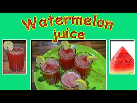 Water Melon Juice | Tharpoosani Juice | தர்பூசணி பழச்சாறு | Summer Special Juice