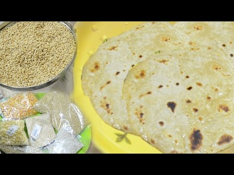 Homemade Wheat flour | Homemade Chapati | How to make homemade wheat flour and chapati