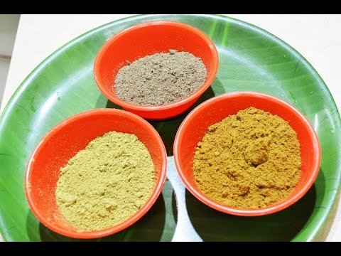 Cumin(Jeera) Powder |   Fennel(Sombu) powder | Black Pepper Powder