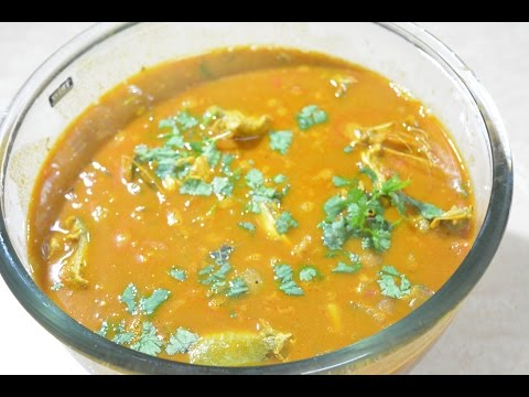 How to make Gramathu Meen Kuzhambu in tamil  | Village Style Fish Curry