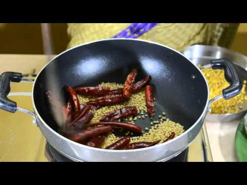 How to make idly podi recipe in tamil | idly powder recipe in tamil | by Amma samayal