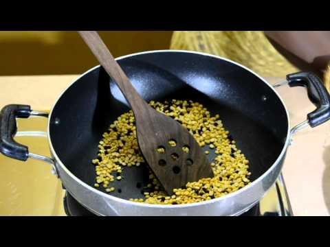 How to make paruppu podi recipe in tamil l Toor dal powder | by Amma samayal