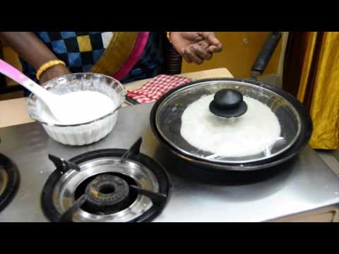 How to make cotton dosai l recipe in tamil l by Amma samayal (பஞ்சு தோசை செய்வது எப்படி)