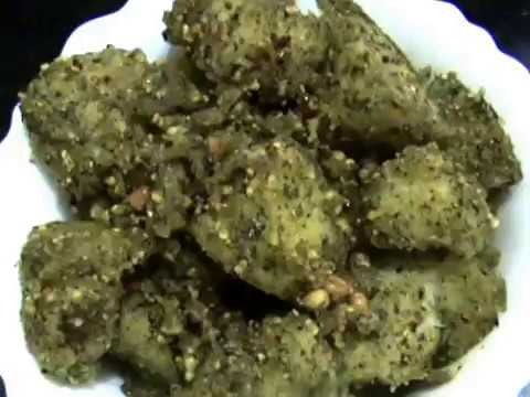 Mummy's Cooking - Curry Leaves Podi Idli in Tamil