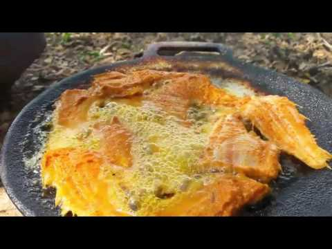 Village style cooking of Tongue Fish Fry   Tamil food factory