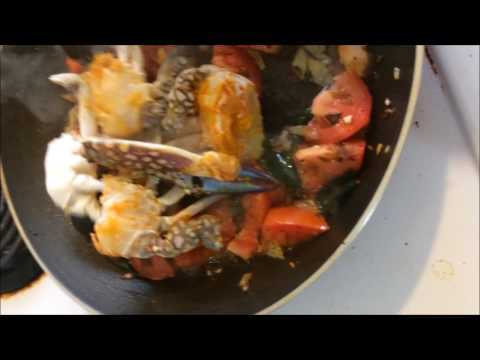 How to make Crab Curry?  - Tamil cooking - nutritious and tasty!