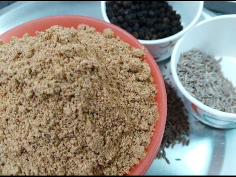 Podi powder tamil cooking recipes videos audios chicken masala rasa podi recipe in tamil recipe no 88 forumfinder Choice Image