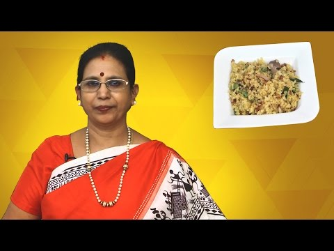 Aval Upma in Tamil | Mallika Badrinath Recipes