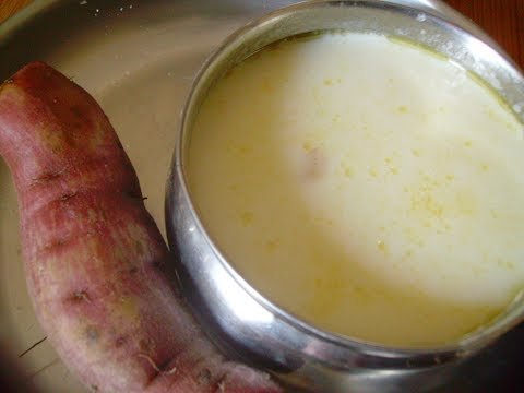 Mummy's Cooking - Sweet Potato Kheer / Sakkarai Valli Kizhangu Payasam in Tamil