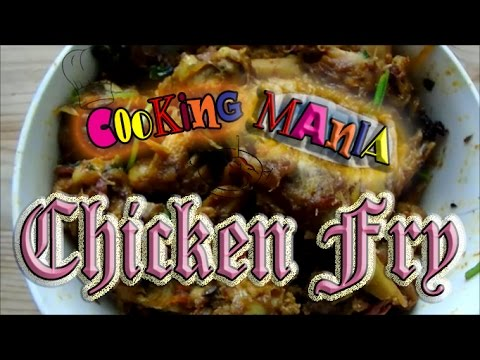 Chicken fry in Tamil   Cooking mania