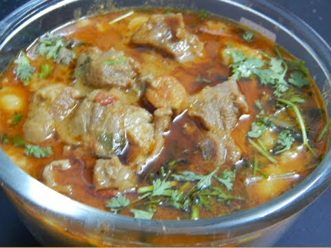 Chettinad Mutton Gravy in Tamil