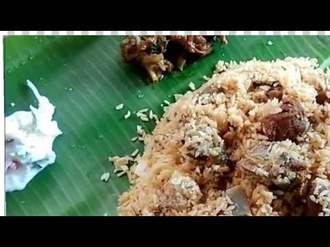 MUTTON BIRYANI IN TAMIL- MUTTON BIRYANI RECIPE IN TAMIL - HOW TO MAKE MUTTON BIRYANI IN TAMIL