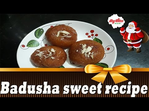 Badusha recipe in tamil |  Home Made Badhusha Sweet Recipe | Festival Sweets