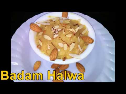 Badam halwa recipe in tamil|Deepavali sweets recipe in tamil|Badam almond halwa recipe