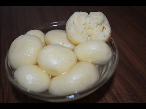 Rasagulla/Bengali Sponge Rasgulla - Sweet Recipe (in Tamil with English subtitles)