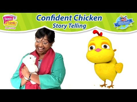 Confident Little Chicken Story | StoryTelling Song For Kids By Jeeva 👩  In Tamil | Bommi Stories