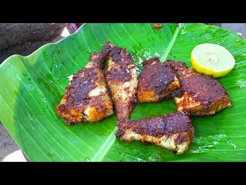 Fish Fry Recipe in Tamil | Fish Curry | Village Style Fish Recipe