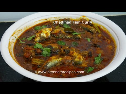 Chettinad Fish Curry - South Indian Chettinad Fish Curry