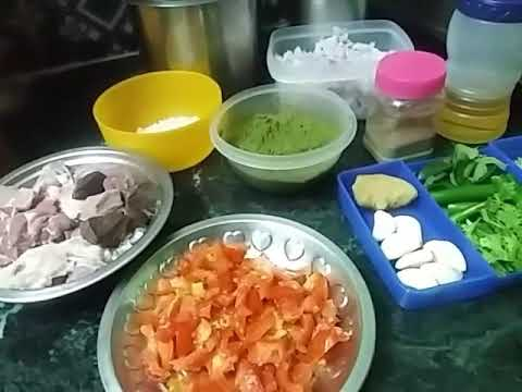 Mutton curry or fry or thokku recipe in Tami/Traditional Mutton curry recipe - tasty nonveg recipe