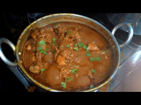 Chicken Gravy (Kozhi Kulambu)  in Tamil | கோழி குழம்பு