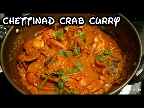 Chettinad crab curry / chettinad nandu kulambu in english /  Tamil style all recipes hut