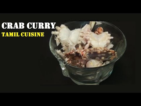 Crab Curry or Nandu Kulambu | From Tamil Cuisine Menu