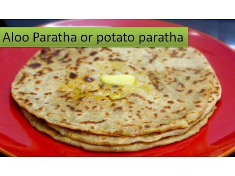 Aloo Paratha in Tamil | Potato stuffed chapati | Deepstamilkitchen
