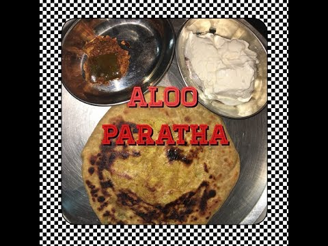 Aloo Paratha / potato stuffing paratha in Tamil