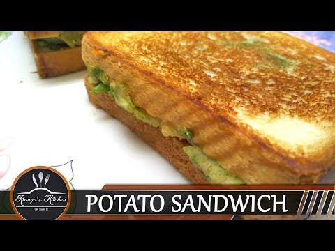 Sandwich recipe in tamil | Potato Sandwich in tamil | Bread sandwich recipe tamil |  Bread sandwich