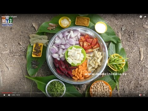 How to Make Veg Biryani Village Style | VILLAGE FOODS