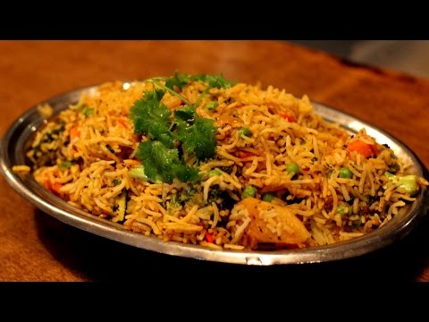 vegetable briyani recipe in tamil/south indian veg briyani(வெஜிடபிள் பிாியாணி)