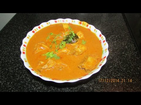 Chicken Kulambu - Recipe in Tamil